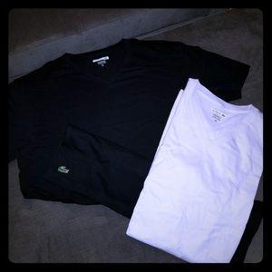 2 Lacoste Mens Tshirts